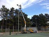 Eclairage Terrain de tennis